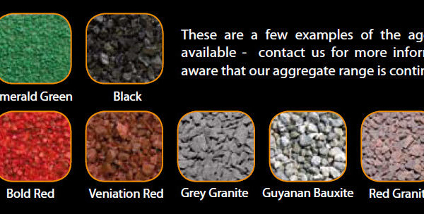 Cold Grip aggregate provides multiple options